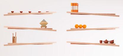 Rake Floating Shelves