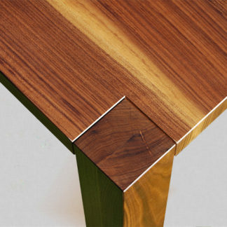 European Walnut Table Top and Leg