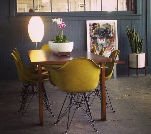 Modernica Eiffel Pickle with Table