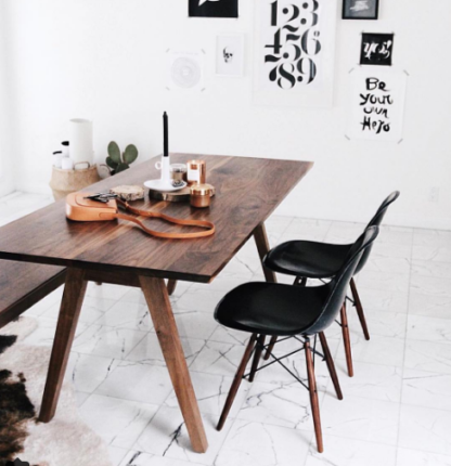 Modernica Jet Black with Table