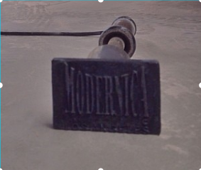 Modernica Logo Press