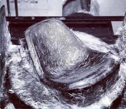 Modernica Fibreglass Chair Original Mould