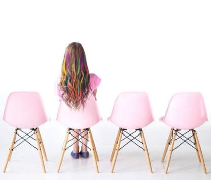 Modernica Pink Side Shell Dowel