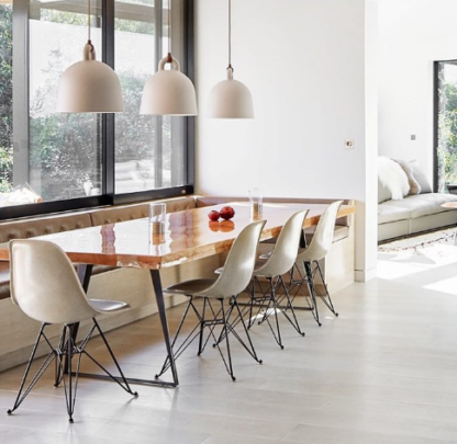 Modernica Eiffel White with Table