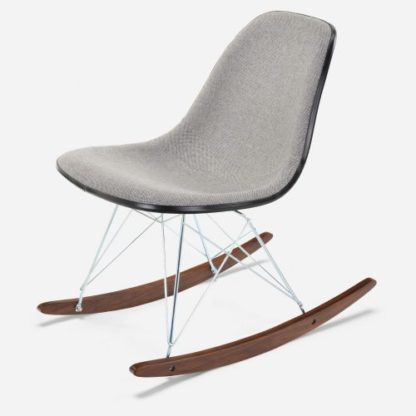 Modernica Side Shell Upholstered Rocker Side