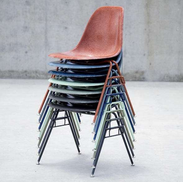 Modernica Stacking Chairs