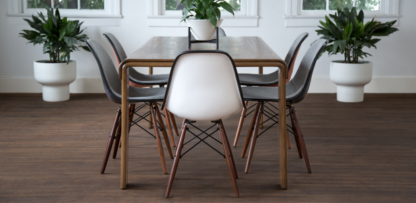 Modernica Upholstered Dowel Chairs