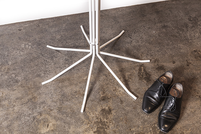 Coat Stand with Shoes