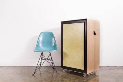 Kamara Trunk with Modernica Side Shell Chair