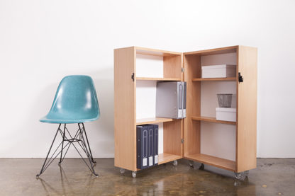 Kamara Trunk Open with Eiffel Chair