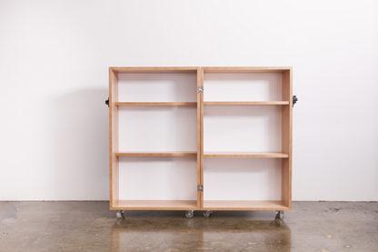 Kamara Trunk Inside Shelves Open