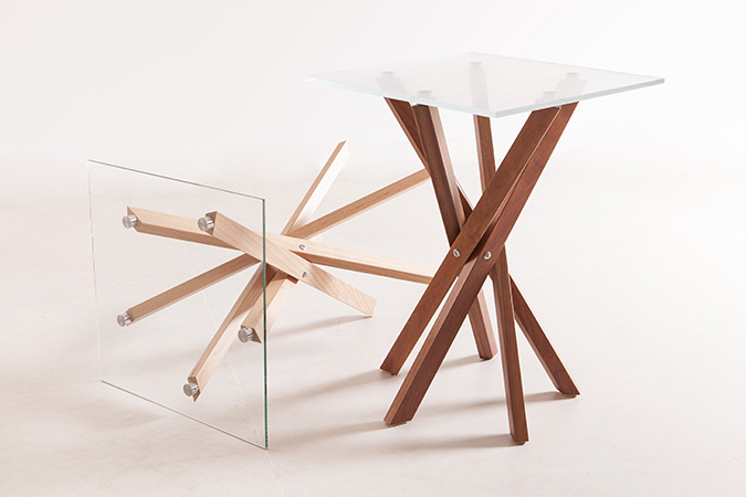 Pende Side Tables Pair
