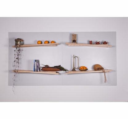 Rake Shelves Set of 4