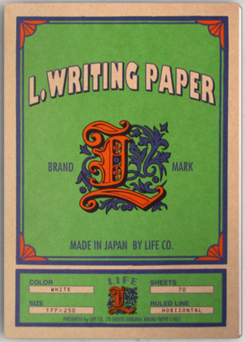L Series Ruled Paper Notebook