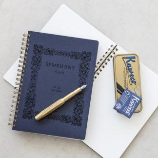 Symphony Notepad + Kaweco Brass Sport Classic