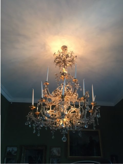 Chandeliers have a place