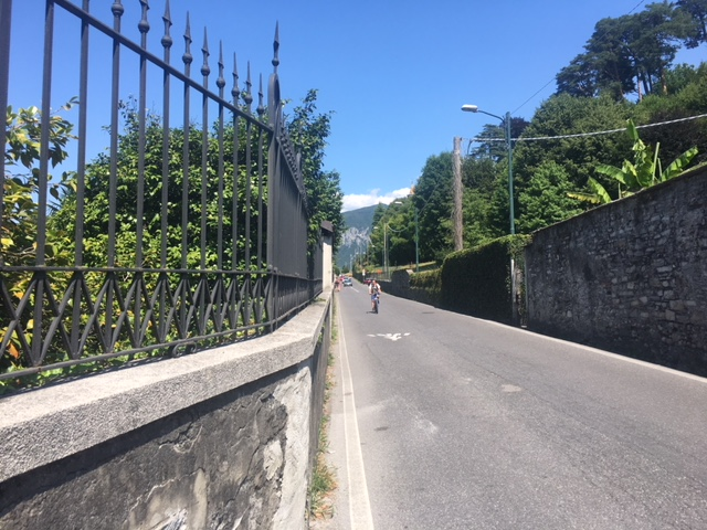 Pretty walk in Lake Como