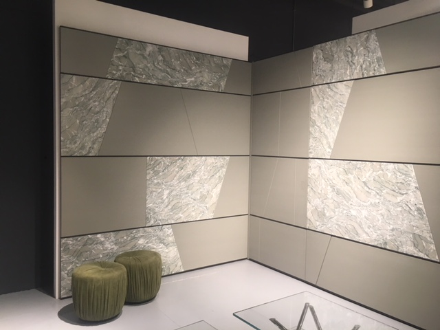Wall panel system allowing timber, marble, or other finishes