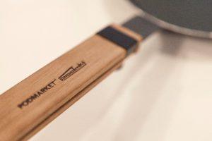 Frypan handle detail