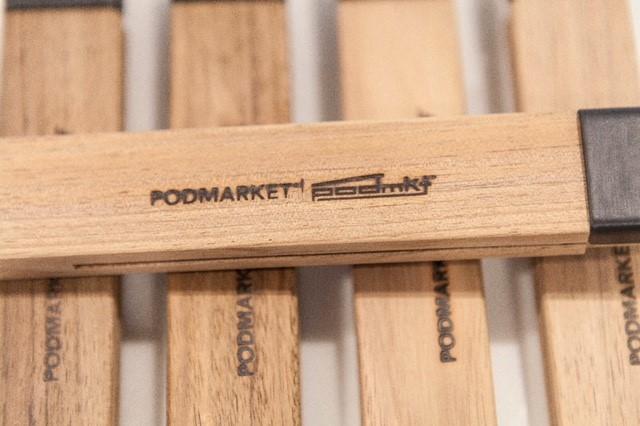 Materials: Frypan handles with PodMarket brand