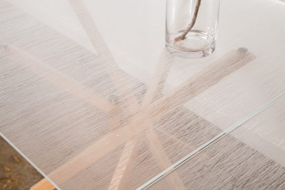 Pende Double Dining Table detail top