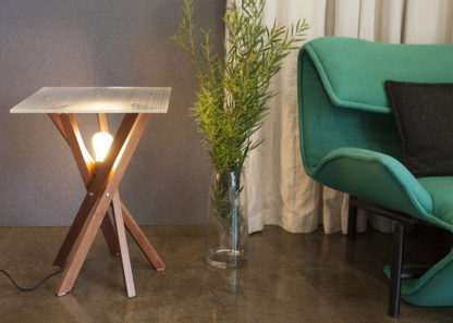 Pende Side Table with Armchair
